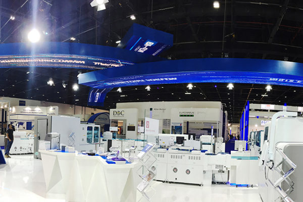 OH37 Arab Health Event Stand Design and Production