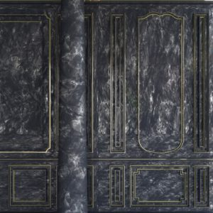 OH37 Close up of a marble wall art direction and set design