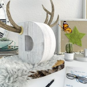 OH37 D is for deer still life visual artdirection in 3D with creative direction