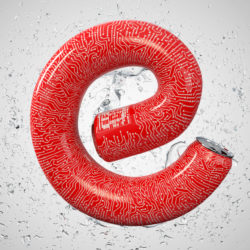 OH37 the letter e for energy creative visual